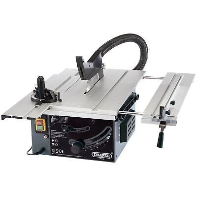 Draper 250mm 1800W 230V Wood Cutting / Woodwork Sliding Table Saw - 82571