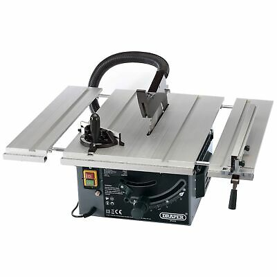 Draper 250mm 1800W 230V Extending Wood Cutting / Woodwork Table Saw - 82570