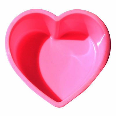 Silicone Heart Cake Cupcake Chocolate Candy Cookie Jelly Baking Mold Soap Tray