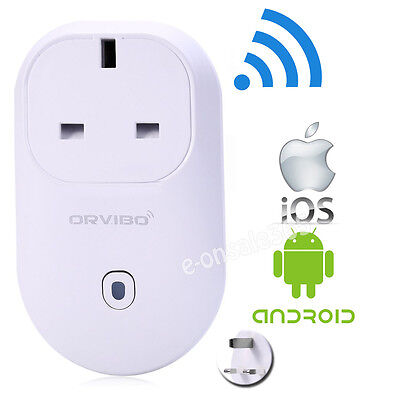 ORVIBO WiFi Phones APP Remote Control Smart Socket Timer UK Power Plug Switches