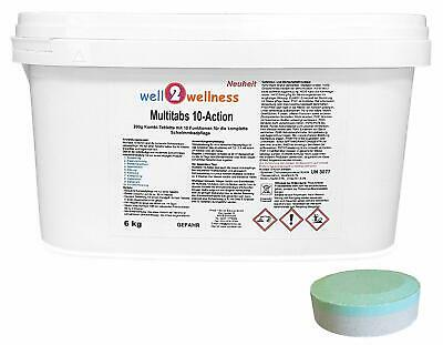 Chlortabletten Chlortabs Chlor Multitabs 10-Action 200g - 5,0 kg Eimer