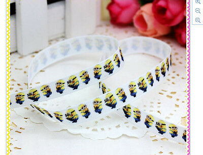 Minions Ribbon 9mm wide 1m long