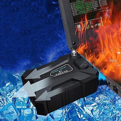 Portable Cool Notebook Laptop USB Cooling Fan Air Cooler Radiator CPU Protector