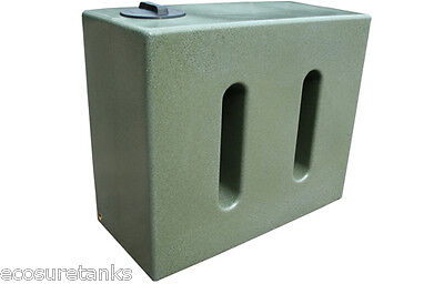 Ecosure 650 Litre Water Butt - Green Marble