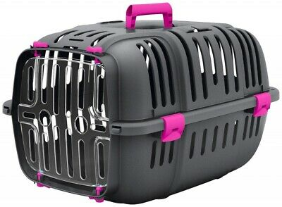 Heritage Pets Cat Carrier Kitten Puppy Dog Pet Safe Travel Crate Carry Box