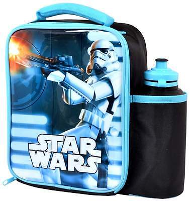 Star Wars Stormtrooper Lunch Bag/Box and 500ml Bottle Set | Rogue One | Lunchbox