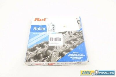 New Reliamark 40-1 Riv 10Ft Rm Single Strand Riveted Roller Chain D530481
