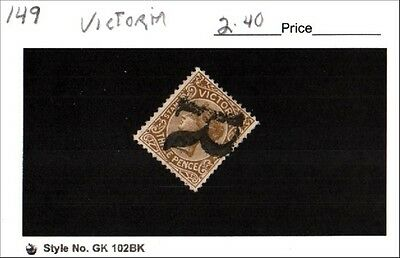 Victoria Stamp Lot Scott 149 Used Low Combined Shipping