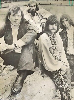 original vintage poster Iron Butterfly 70's Music pin-up Frank Kay Jay Thompson