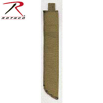 Rothco O.D. Canvas Machete Sheath - 943