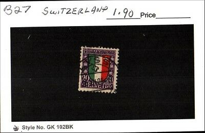Switzerland Stamp Lot Scott B27 Used Low Combined Shipping