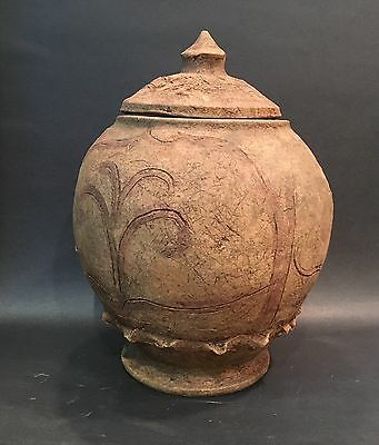 Chinese Antique Five Dynasties Pottery Jar