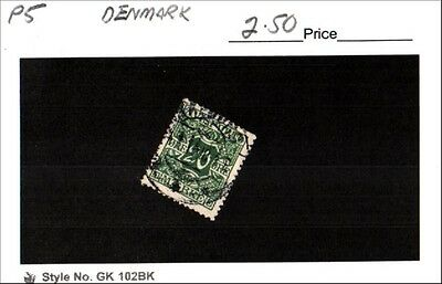 Denmark Stamp Lot Scott P5 Used Low Combined Shipping