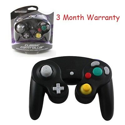 Nintendo Gamecube & Wii Classic Controller Wired Black Brand New