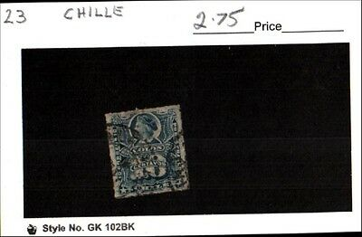 Chile Stamp Lot Scott 23 Used Low Combined Shipping