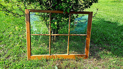 VINTAGE SASH ANTIQUE WOOD WINDOW UNIQUE FRAME PINTEREST WEDDING 36x27 6 PANE