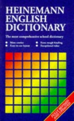 Heinemann English Dictionary Paperback Book The Cheap Fast Free Post