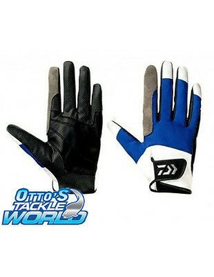 Daiwa Hybrid Jigging Leather Gloves Pair (Large) BRAND NEW at Otto's