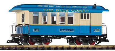 Piko G Scale Blue Comet Wood Style Combine | Ships In 1 Business Day | 38622