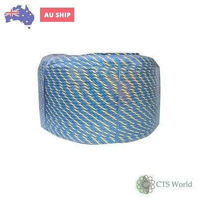 TELSTRA ROPE 50 METRES, 6mm STRONG 605kg *General Purpose*