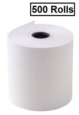 500 Rolls 57x40mm Eftpos Thermal Cash Receipt Rolls (.39 per roll)
