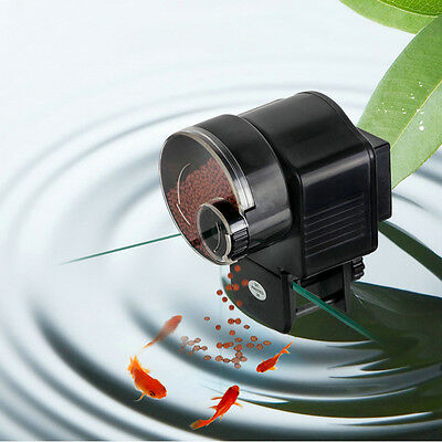 LCD Automatic Fish Food Feeder Auto Timer Tank Pet Digital Aquarium Tank Pond A