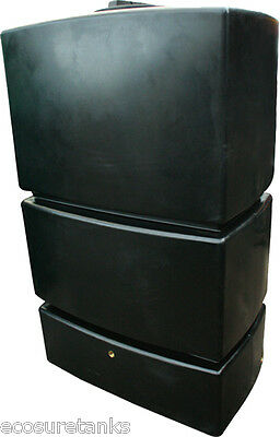 ECOSURE 1275 LITRE Water Tank Black