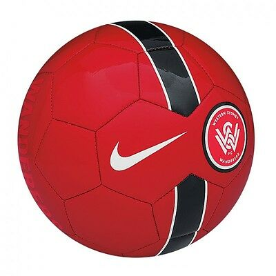 Nike Football / Soccer Ball - Western Sydney Wanderers Supporters Ball - Size 5