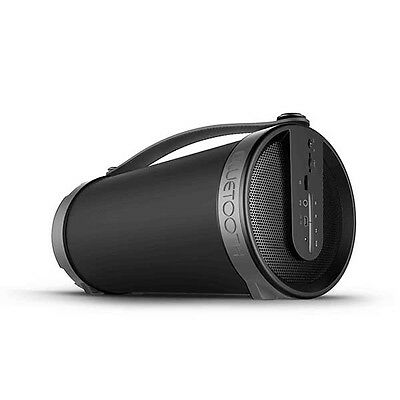 Thumbs Up Boomtube Wireless Bluetooth Speaker Powerful Music Player Black