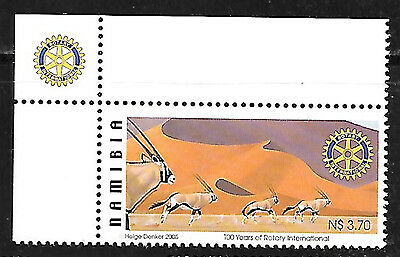NAMIBIA 2005 ROTARY Sc#1053 MNH COMPLETE SET 505