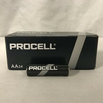 New Duracell Procell Aa 1.5V Alkaline Batteries 24 (1 Box Of 24)  Exp 5+ Yrs