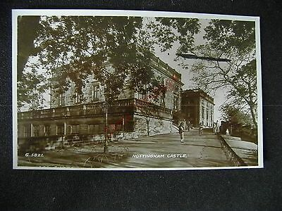 Nottinghamshire Postcard Nottingham Castle  056
