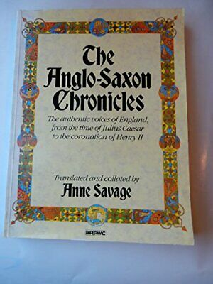 Anglo-Saxon Chronicles Paperback Book The Cheap Fast Free Post