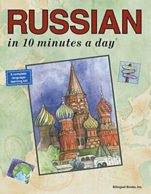 Russian in 10 Minutes a Day by Kershul, Kristine K. Paperback Book The Cheap