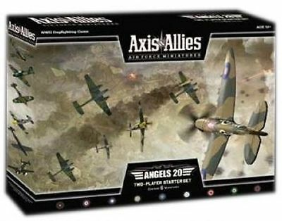 Axis & Allies Air Force - Angels 20 Two-Player Starter Set Box - Free Priority!