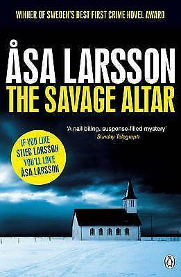 The Savage Altar by Asa Larsson (Paperback)