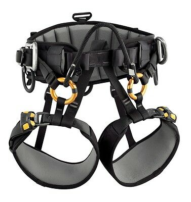 Petzl Sequoia SRT climbing / tree care seat harness for single rope techniques