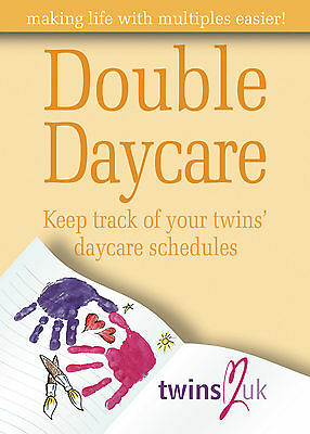 Double Daycare - Twins Childcare Diary & Development Guide