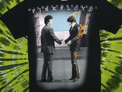 PINK FLOYD Wish You Were Here LIQUID BLUE T-Shirt M