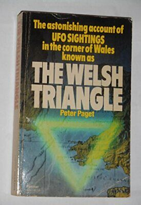 Welsh Triangle by Paget, Peter Paperback Book The Cheap Fast Free Post