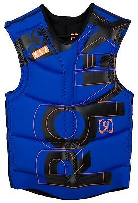 Ronix Bill No Zip Impact Vest – Color: Blue – Size: Small – New!!!