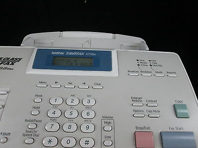 Brother IntelliFAX 4750E Business-Class Laser Fax Super G3/33.6Kbps