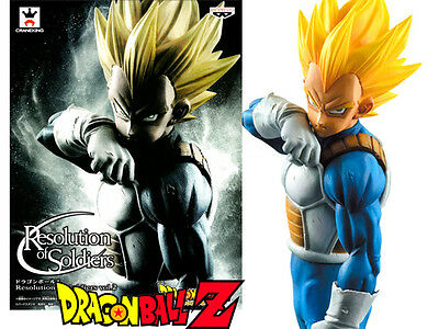 Dragon Ball DBZ Resolution of Soldiers Super Saiyan SS Vegeta Banpresto figure
