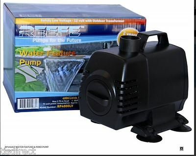 Reefe Rp2400Lv Low Voltage Feature Pump