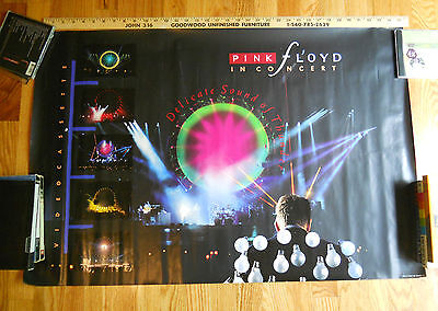 PINK FLOYD 1989 Delicate Sound Of Thunder LP Record Store RARE Promo poster