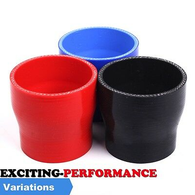 Silicone Hose Straight Reducer All Sizes Available Black/Red/Blue  Joiner Liner