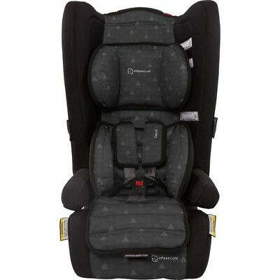 Infa Secure Comfi Treo Convertible Booster Seat - Ebony