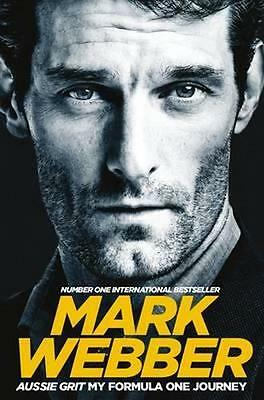 NEW Aussie Grit By Mark Webber Paperback Free Shipping