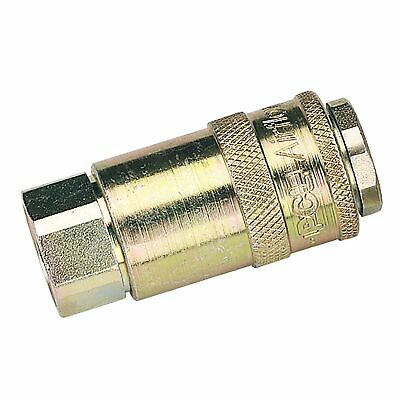 "Draper 3/8"" Female Thread PCL Parallel Airflow Coupling (Sold Loose) - 37829"