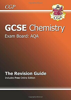 GCSE Chemistry AQA Revision Guide (with online edition... by CGP Books Paperback